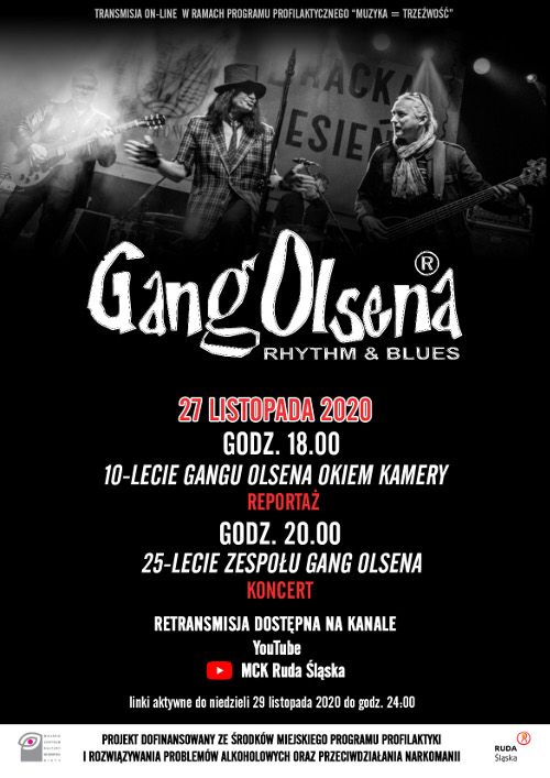 Gang Olsena on-line